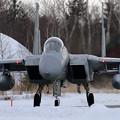F-15J 899 201sq taxiing