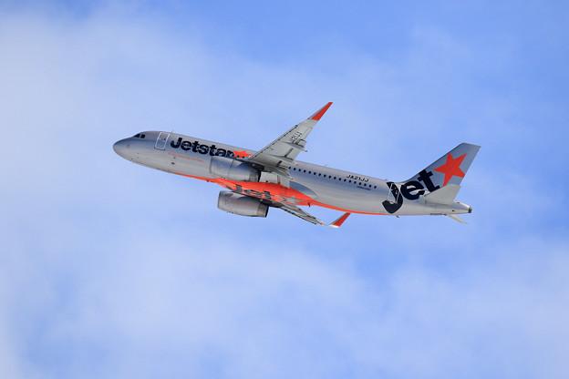 A320 JJP JA21JJ takeoff