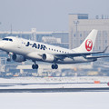 Photos: ERJ-170STD J-AIR JA217J takeoff