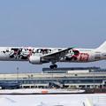 Photos: Boeing767 JAL DREAM EXPRESS 90 JA602J landing