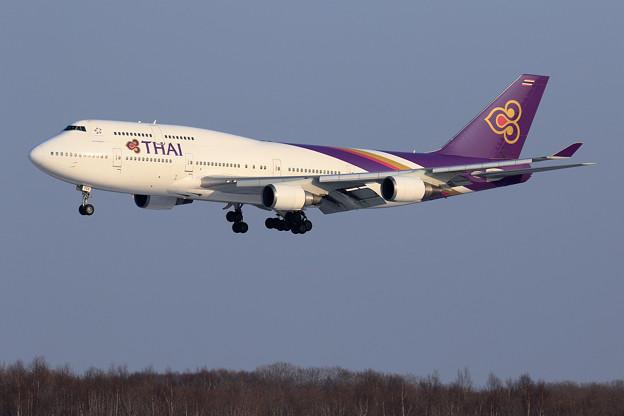 B747 THAI HS-TGX landing (1)