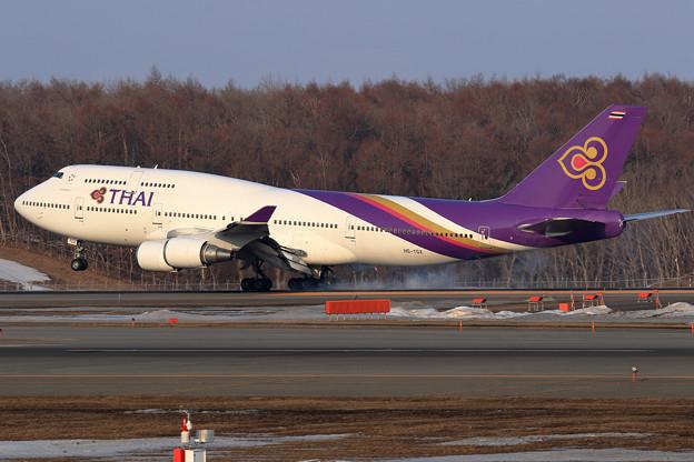 B747 THAI HS-TGX landing (2)