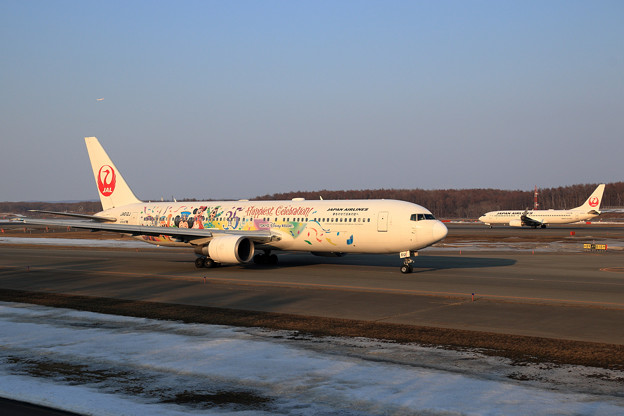 B767 JAL CelebrationExpress taxiing (1)