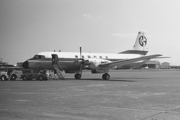 YS-11 JA8651 とわだ HND 1972.03