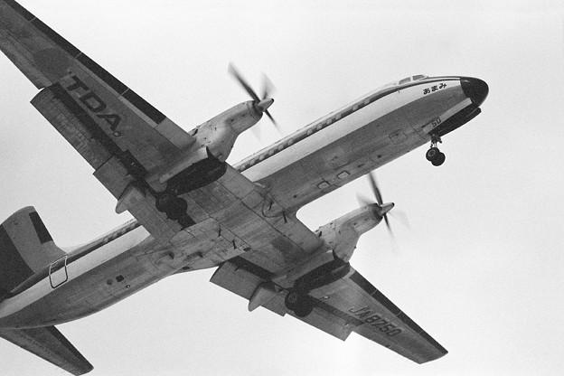 YS-11A JA8750 あまみ CTS 1978.03