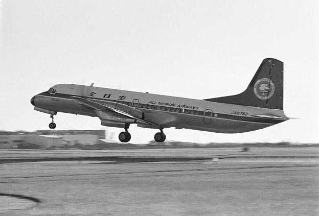 YS-11A JA8782 全日空 ALL NIPPON AIRWAYS 1976.01