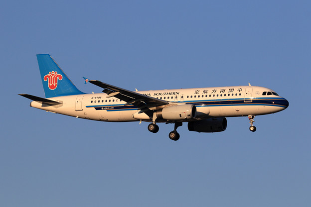 A320 China Southern Airlines B-6786 approach