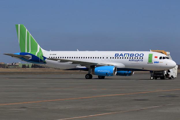 A320 Bamboo Airways ferry EI-GKM (1)