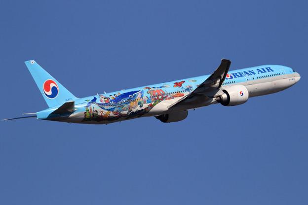 Boeing777 KAL 児童絵画塗装機 HL8274 (2)