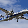 Photos: Q400 ANA Wings JA464A approach