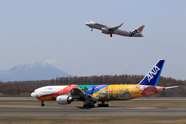 B777 ANA JA741A landing roll
