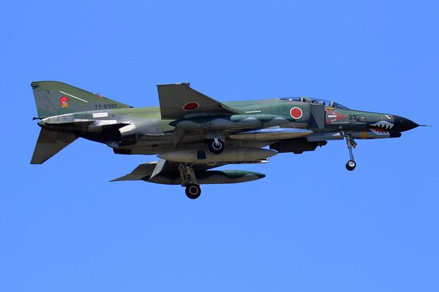 RF-4EJ 397 飛来