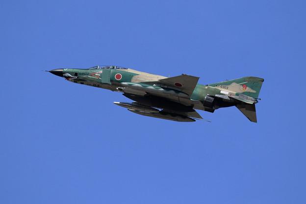 RF-4E 903 501sq 帰投