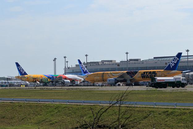 Boeing777 ANA STARWARSとTOKYO2020