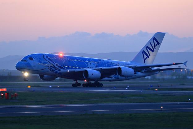 A380 ANA JA381A takeoff (1)