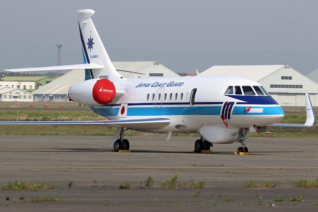 Falcon2000EX N332FJ 海保にFerry途中(1)