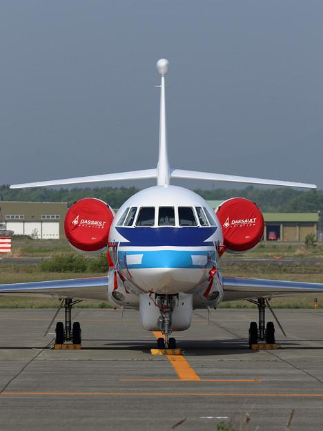 Falcon2000EX N332FJ 海保にFerry途中(2)