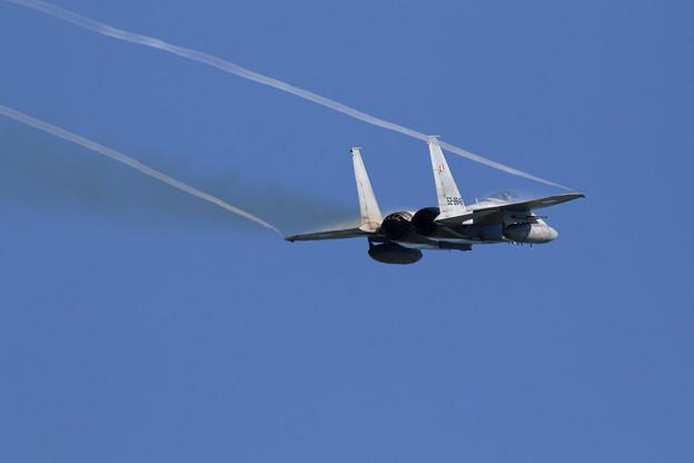 F-15J 848 203sq takeoff