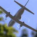 YS-11EA 1163 takeoff