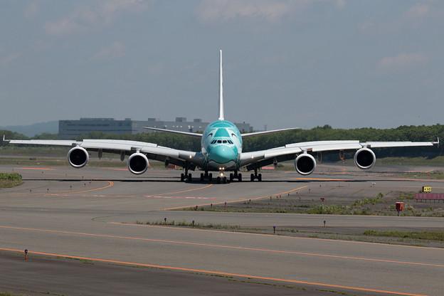 A380 ANA JA382A 飛来 2回目 (1)