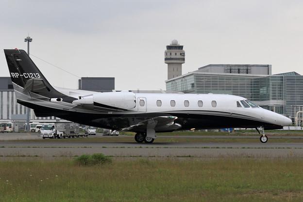 Cessna 560XL RP-C1213 arrival(2)