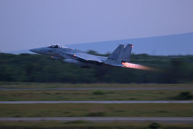 F-15J 872 203sq takeoff