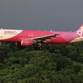 A320 APJ JA808P approach