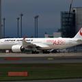 A350-900 JAL JA01XJ 慣熟飛行で飛来 (2)
