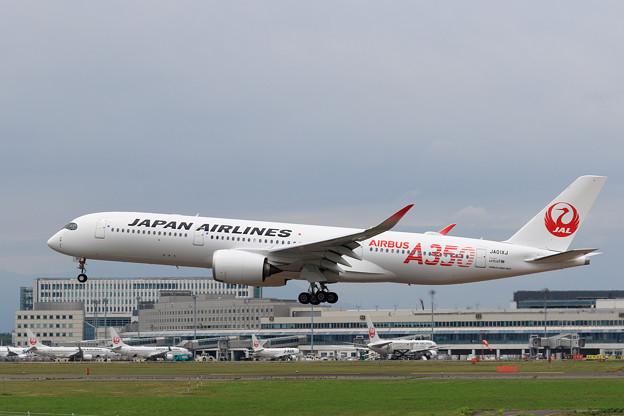 A350 JAL JA01XJ landing