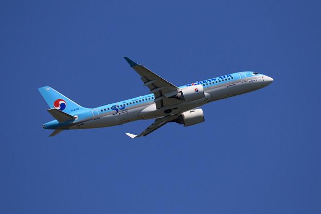 Photos: A220 KAL 50years HL8311 takeoff