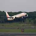 Photos: Boeing737 JAL Rwy19L takeoff
