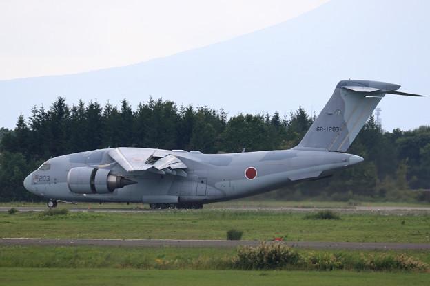 C-2 68-1203 403sq Abort takeoff