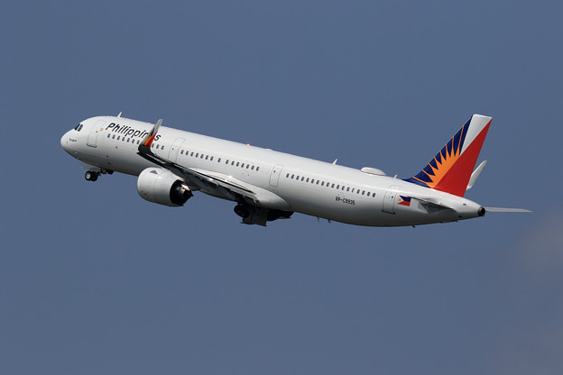 A321neo Philippine Airlines RP-C9935 Gear up