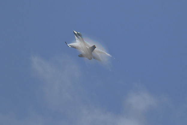 Photos: F-16C PACAF Viper Demo Team 予行 (1)