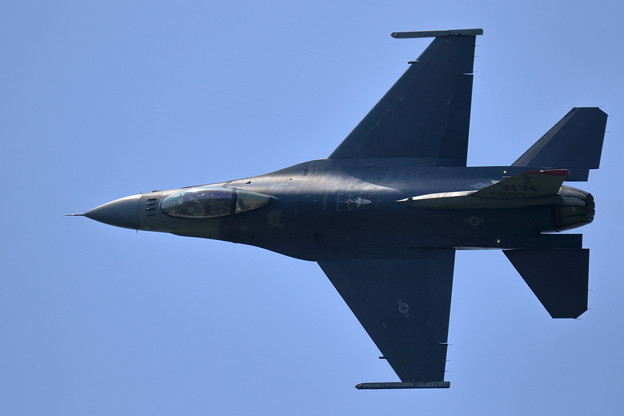 F-16C PACAF Viper Demo Team 予行2日目 (2)