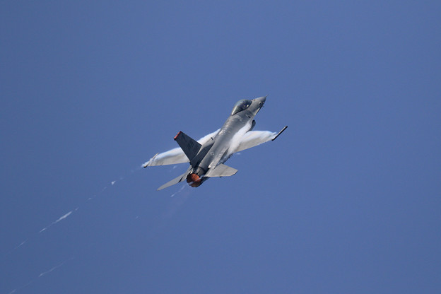 F-16C PACAF Viper Demo Team 予行2日目 (4)