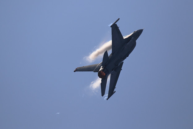 F-16C PACAF Viper Demo Team 予行2日目 (5)