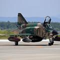 Photos: RF-4E 57-6907 501sq 飛来(1)
