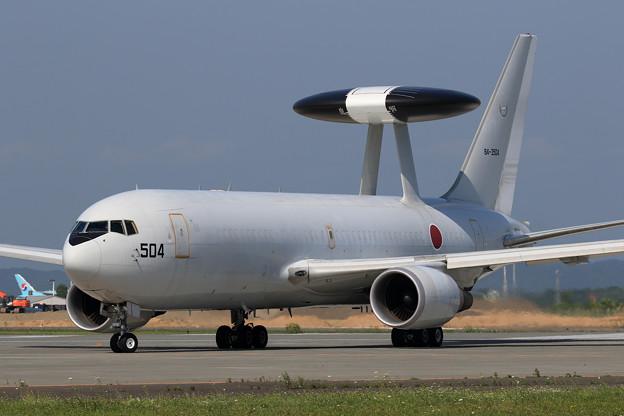 E-767 84-3504 AWACS 飛来(2)