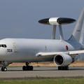 Photos: E-767 84-3504 AWACS 飛来(2)