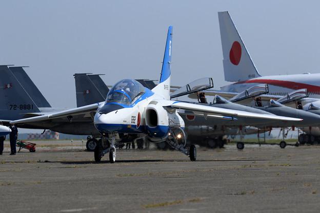 T-4 Blue Impulse 2機での展示飛行(2)