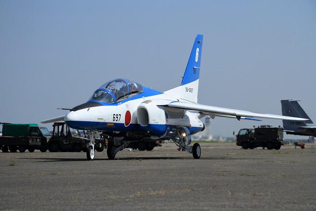 T-4 Blue Impulse 692/697 2機での展示飛行(3)