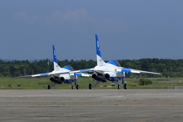 T-4 Blue Impulse 2機での展示飛行(4)