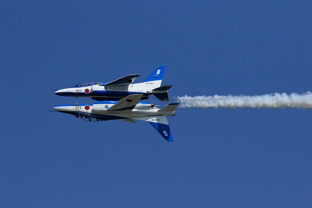 T-4 Blue Impulse 692/697 2機での展示飛行(6)