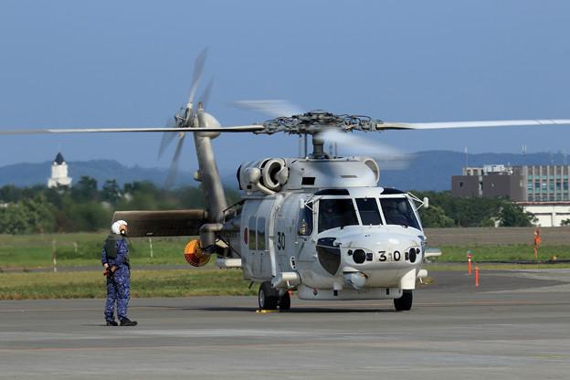 千歳航空祭 帰投準備 SH-60K