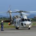 千歳航空祭 帰投準備 SH-60K 8430