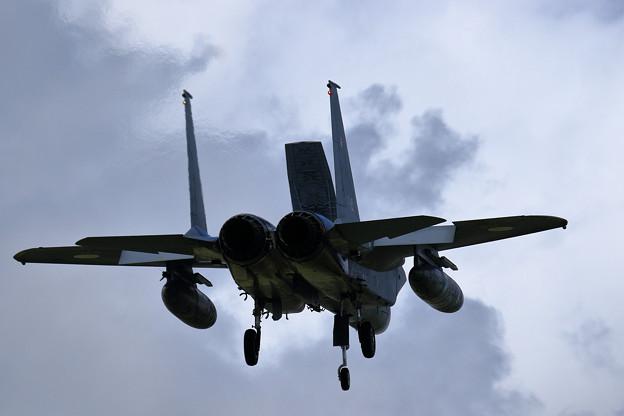F-15J 203sq approach