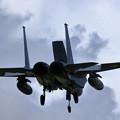 Photos: F-15J 203sq approach