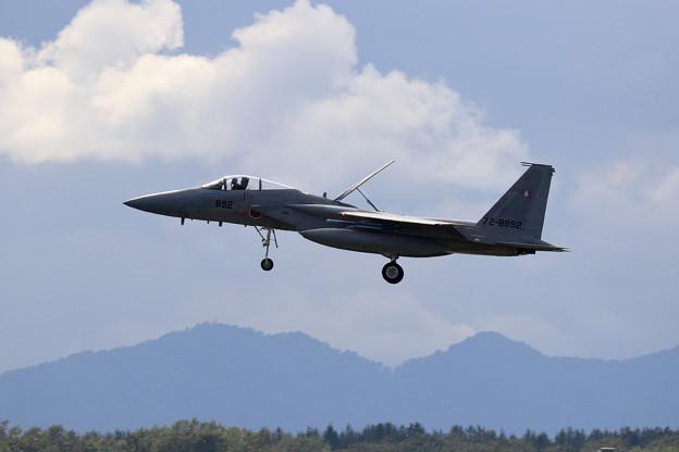 Photos: F-15J 892 203sq approach