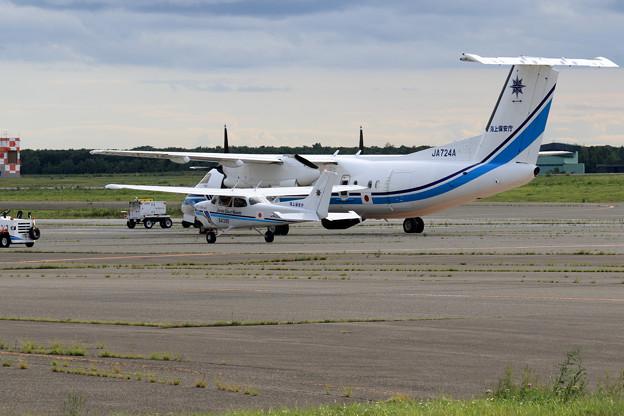 JCG Q300 おおわし+Cessna172S あまつばめ